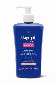 BAGOVIT A EMULSION NUTRITIVA HUMECTANTE - PIEL SECA - 2112 - ALTA