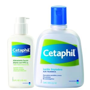 Cetaphil de Galderma Limpiador+Hidratante FPS 15