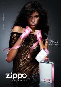 zippo the woman ad