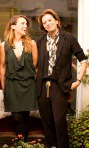 Jazmin Stuart y Graciela Naum1
