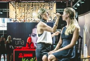 Evento Natura- Verónica Mendoza, Maquilladora Oficial de Natura